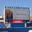 太極拳フェスティバルを終えて、横浜スタジアムで「鶴さんを送る会」