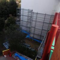 大規模修繕工事が始まりました。