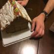 中年男女とお菓子の家