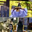 神饌のお供え (志摩市・神明神社)