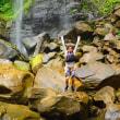 久しぶりのスコール!!ピナイサーラの滝ツアー。17日。