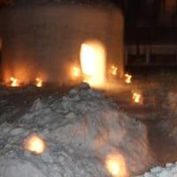 老神温泉雪ほたる