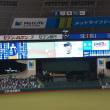 9年目野上投手プロ初完封勝利を観戦して来ました!!