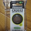年に1度はパソコン内部を掃除しよう。(2)パナソニック CR2032 リチウム電池