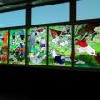 「キャプテン翼」のステンドグラス @浦和美園駅