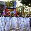 <宇佐神輿フェスタ> 東大寺で総勢300人の神輿パレード