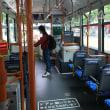 バスを乗り換えて千葉大学病院に行きます。