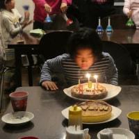 8歳誕生日(三女)