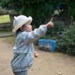 元気が一番 ミカン狩りしてから公園で遊ぶ
