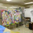絵画教室 金曜クラスにお邪魔しました