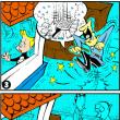 連載4コマ漫画「ファウスト君」 第九話