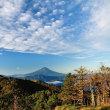 牛奥の朝(注意!湯ノ沢峠に向かう県営林道大蔵沢大鹿【オオクラサワオオシカ】線は通行止めとなっています。