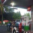 バリ島の不思議。ガソリンスタンド