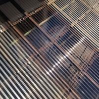 バルコニーの屋根取替 ポリカ波板