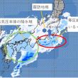 諏訪地域では降雪少なく、関東大雪。南岸低気圧の不思議