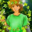 緑にドロップ