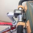 シルクランドナーDXにオーストリッチのフロントバッグを装着しました・・・