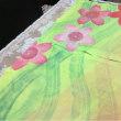 愛知川の暖簾、桜を描く