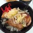 カーリング日韓戦の再放送見ながら昼食