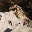 六甲山・地獄谷でアイゼンワークの講習会がありました