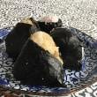 蛸のから揚げの献立に キムチのパンケーキも加えてみました