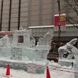第69回さっぽろ雪まつり・すすき野会場!氷像!