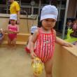 しろ 1歳児 プール