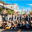 宮出した本町青年団の記念撮影