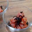 姫鯛(コマス)の刺身と晩ごはん