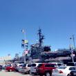 西海岸旅行記2014夏(46):6月18日:サンディエゴ、空母ミッドウェイの乾いた午後