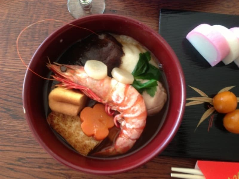 ☆ 風信子の2013年のお雑煮レシピです。