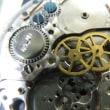 外国製の自動巻きパワーリザーブ付きを修理です