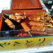 精肉屋さんの実演焼鳥販売(笑)・・・栃木屋精肉店(西浅草)