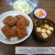 志多美屋広沢店でソースかつ丼を食す