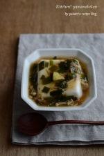 ニラとえのきのあんかけ豆腐