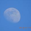今日も木星と仲良しの月が見えています