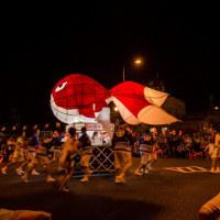 金魚提灯祭り  白壁の街柳井