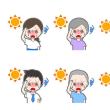 本日:4月20日から週末は、熱中症に厳重なご注意を!