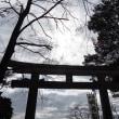 お参りしてきました・・山上の神社