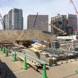 新山形県県民会館建設中。