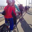 初しまなみ海道・・・晴れた!自転車で風を切り走る・・ずっと続く目線に近い海。風と波。気の合う仲間。新しい出会い。気に入った民宿。(^^)