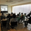出前名作映画上映会「ローマの休日」開催特養老人ホーム訪問