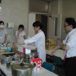 防災訓練および炊き出し訓練