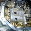 C25セレナ エンジンから音 オイルパン交換