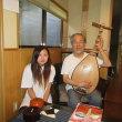 筑前琵琶演奏家のお宅を訪問