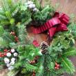 ◇◇◇ フレッシュなクリスマスリースを…♪