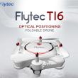 オプティカル フロー ポジショニング Flytec T16 折りたたみ可能 Wifi FPV 480P カメラ RC クアッドコプター RTF 2.4GHz新品モード切替