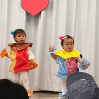 息子最初・娘最後の幼稚園発表会