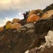 山頂へのアタック…天空の城C2へ