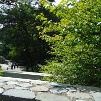軽井沢に行った:GQも行くのね石の教会
